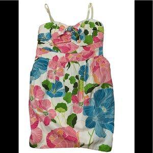 Torrid floral bodycon dress size 18